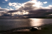 Summer evening at Kilmory Bay