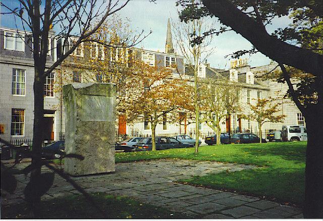 Archibald Simpson Memorial, Bon Accord Square.