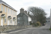 The Old & the New, Bodedern, Anglesey.