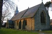 Holy Trinity Church, Gwernaffield.