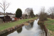 Duke of Northumberland's River at Bedfont - water for mills and Syon House