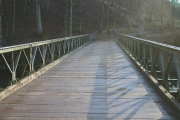 Modern Bridge Over River Lowther