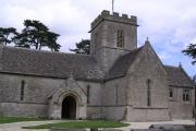 Meysey Hampton.  St.Mary's church