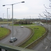 Zoons Court Roundabout A417 from overbridge