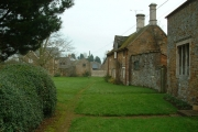 Quaint Village Scene in Ayston