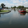 Saul Junction on the Gloucester and Sharpness Canal