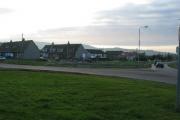Stewarton Village near to Campbeltown.