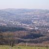 View of Mynydd Meio, Caerphilly