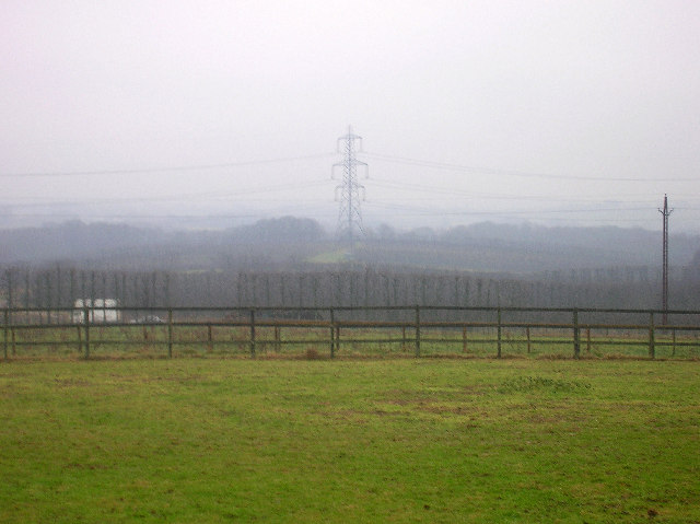 Electricity Pylon, Greenaway Fruit Farm.