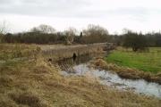 Aylestone packhorse bridge