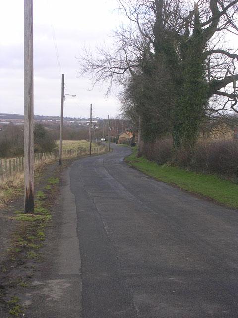 Rough Lea Lane, Hunwick