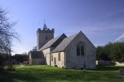 St Peter's Church, Catcott, Somerset. Part 13th Century. Grade1 Listed Building
