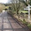 Lane through Drayford