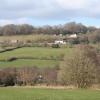 Hemyock: Combe Hill from near Culm Bridge