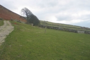 Farmland above Gwastadgoed