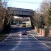 Railway Bridge crossing over Sheffield Road near Unstone.