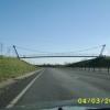 Foot Bridge Over Traffic