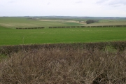 Typical wolds scenery near Thwing