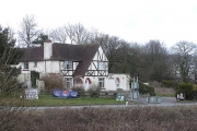 The Eagle Tavern on the A303 west of Ilminster