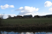 farm along Ashby Canal