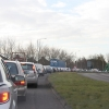 Traffic jam on the Thurmaston By-pass