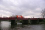 Dalmarnock Bridge plus B&Q Van