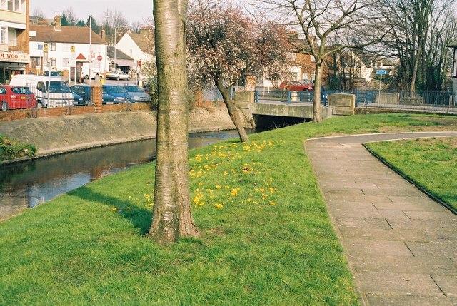 River Cray at Crayford, Kent