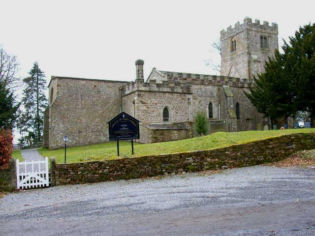 St Oswald Church, Hauxwell