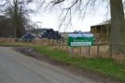 Barn near Hackforth
