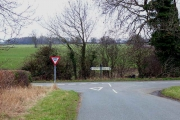 Road junction south of Hackforth