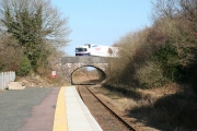 Sampford Courtenay: station