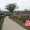 Plymtree: road near Motts Cross