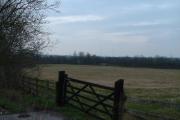 Farmland near the M4 motorway