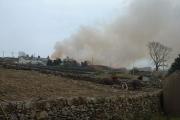 Flames over Carmel
