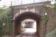 Two bridges over Langaton Lane