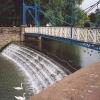 Weir and Footbridge Jephson Gardens