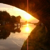 Evening Sunset on Cheshire Ring Canal