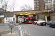 Railway overbridge, Sidcup, Kent