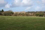 Farmland west of Carharrack