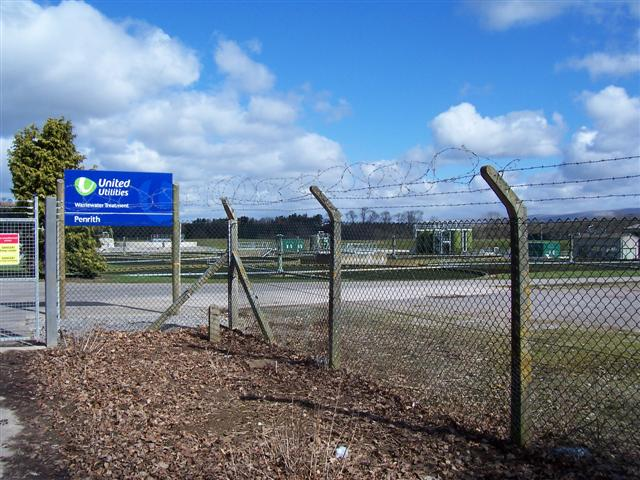 Penrith Waste water Treatment Works.