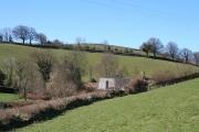 East Anstey: approaching Oak Farm