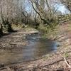 East Anstey: ford on bridleway