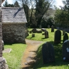 West Anstey: churchyard