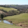 West Anstey: towards Dunsley Mill