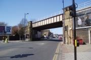 Railway overbridge, Welling, Kent