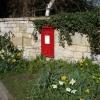 Village postbox Little Haresfield