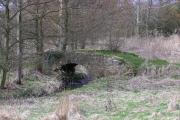Bridge over Headlam Beck.