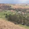 Castleton seen over Didderhowe Farm