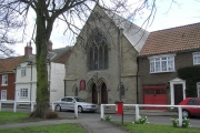 Methodist Church : Cockerton Green, dated 1874.