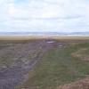 Causeway crossing Llanrhidian Marsh